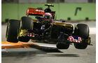 Jaime Alguersuari Toro Rosso GP Singapur 2011