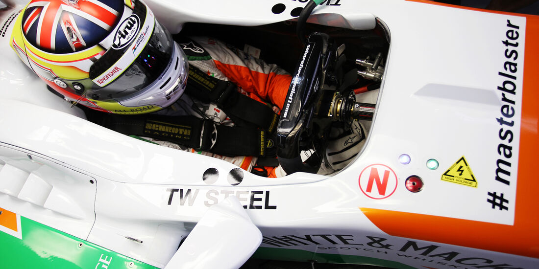James Calado - Force India  - Formel 1 - GP Indien - 25. Oktober 2013