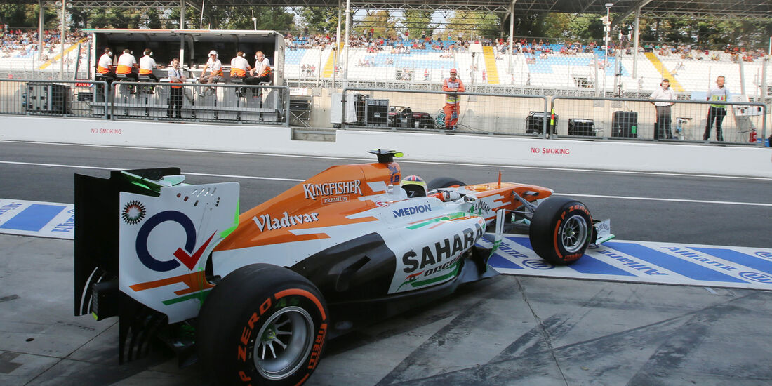 James Calado - Force India - Formel 1 - GP Italien - Monza - 6. September 2013