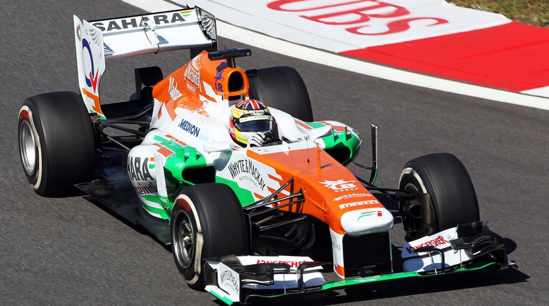 James Calado - Force India - Formel 1 - GP Korea - 4. Oktober 2013