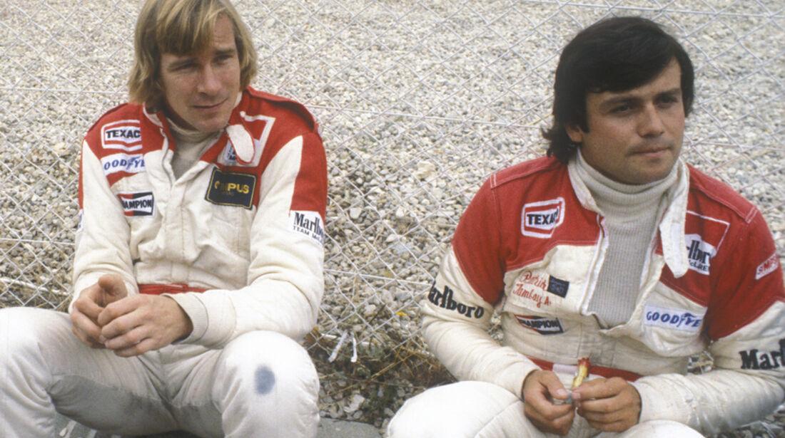 James Hunt Patrick Tambay 1978 McLaren