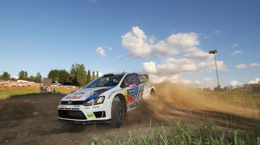 Jari-Matti Latvala - Rallye Finnland 2014 - Tag 3 - WRC - VW Polo R WRC