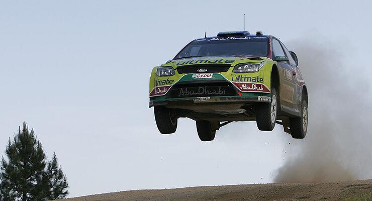 Jari-Matti Latvala, Rallye Sardinien 2009, Rallye-Sprünge