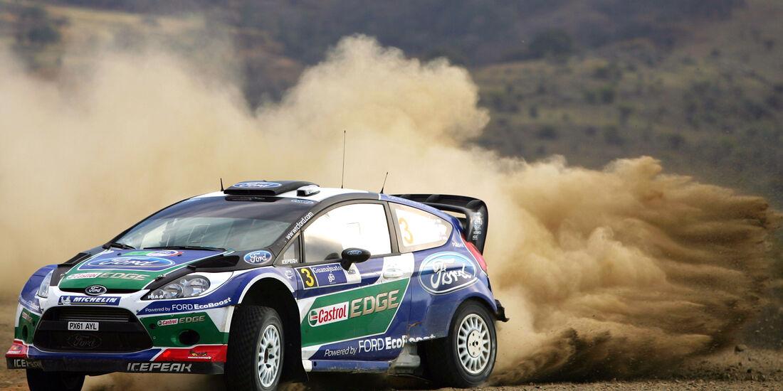 Jari-Matti Latvala WRC Rallye Mexiko 2012