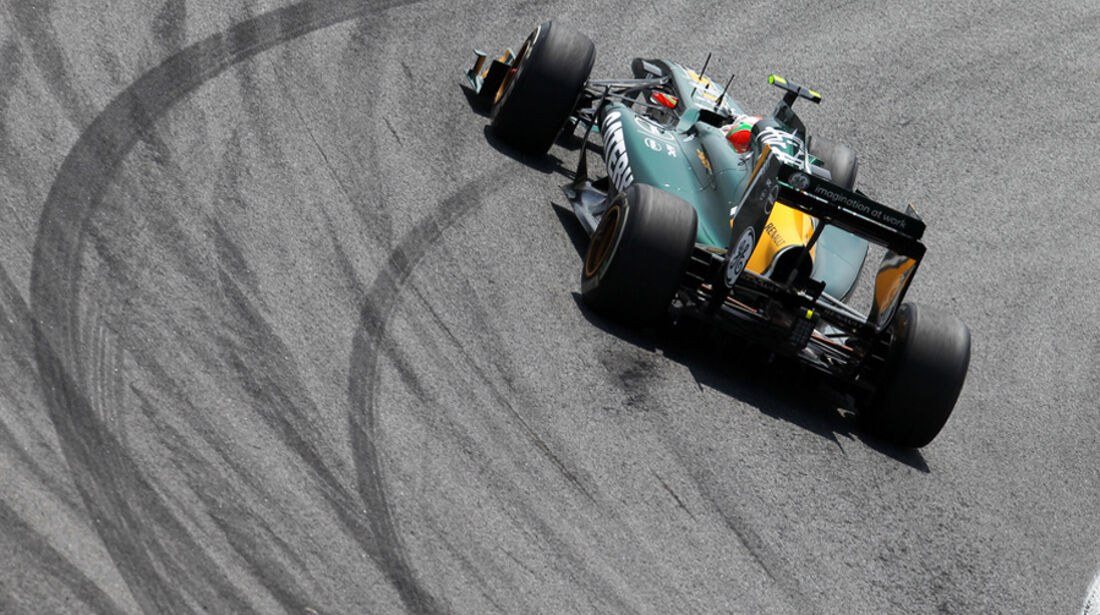 Jarno Trulli Lotus GP Brasilien 2011