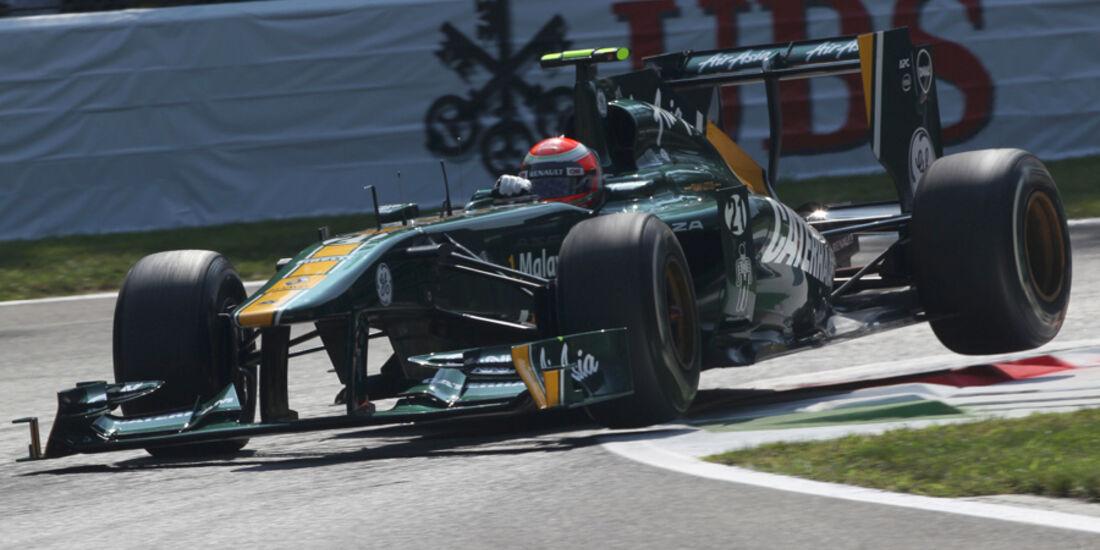 Jarno Trulli Lotus GP Italien 2011