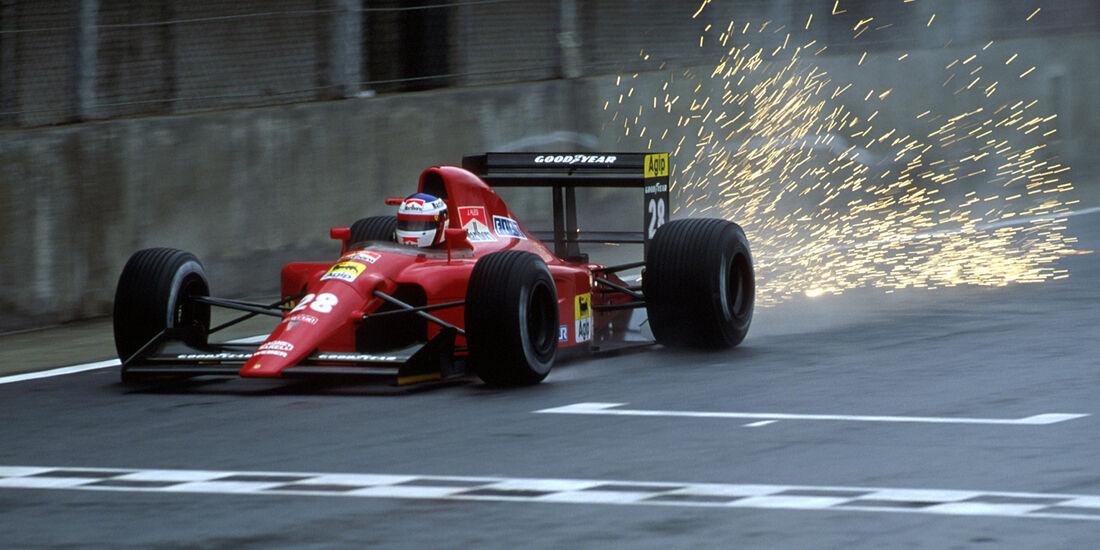 Jean Alesi Ferrari