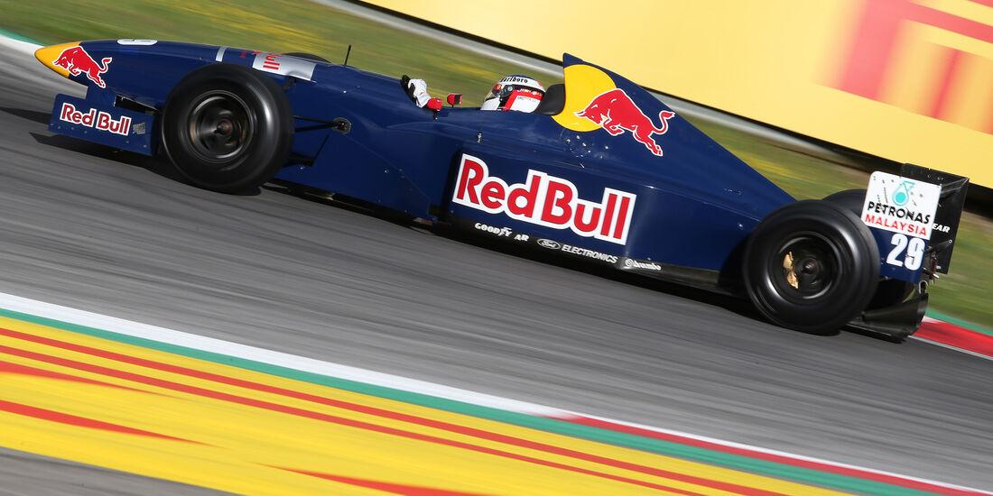 Jean Alesi - Sauber C14 - Legends Parade - GP Österreich 2015