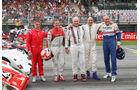 Jean Alesi - Tom Kristensen - Helmut Marko - Gerhard Berger - Hans Joachim Stuck - Legendenparade - GP Österreich 2017 - Spielberg