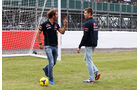Jean-Eric Vergne & Daniil Kvyat - Toro Rosso - Formel 1 - GP England - Silverstone - 3. Juli 2014