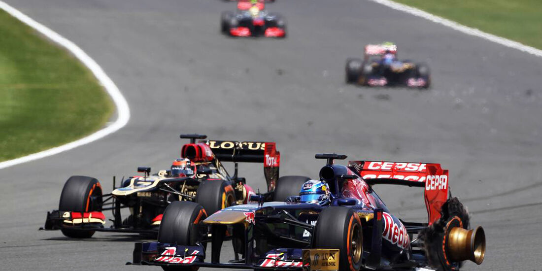 Jean-Eric Vergne  - Formel 1 - GP England - 30. Juni 2013