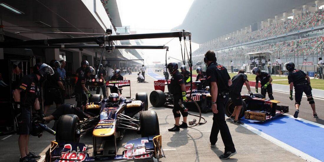 Jean Eric Vergne - Formel 1 - GP Indien - 26. Oktober 2012