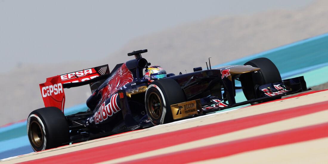 Jean-Eric Vergne - GP Bahrain 2013