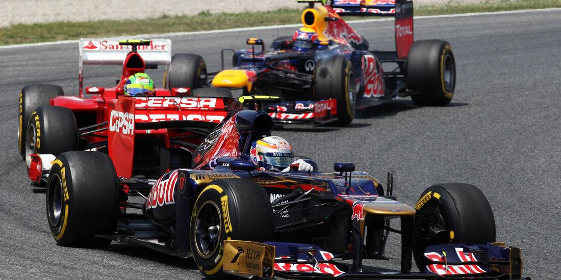 Jean Eric Vergne GP Spanien 2012