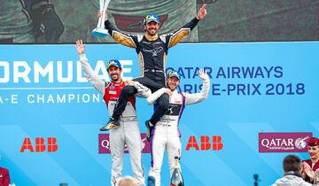 Jean-Eric Vergne - Lucas di Grassi - Sam Bird - Formel E 2018 - eprix Paris