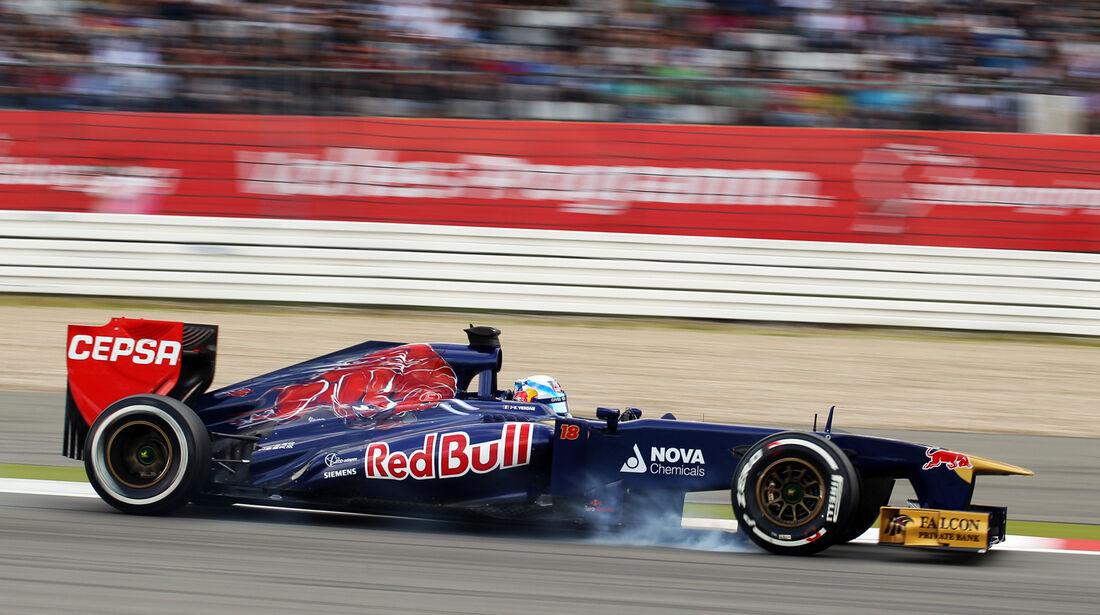 Jean-Eric Vergne - Toro Rosso - Formel 1 - GP Deutschland - 6. Juli 2013