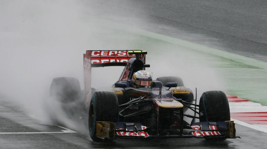 Jean-Eric Vergne - Toro Rosso - Formel 1 - GP England - Silverstone - 7. Juli 2012