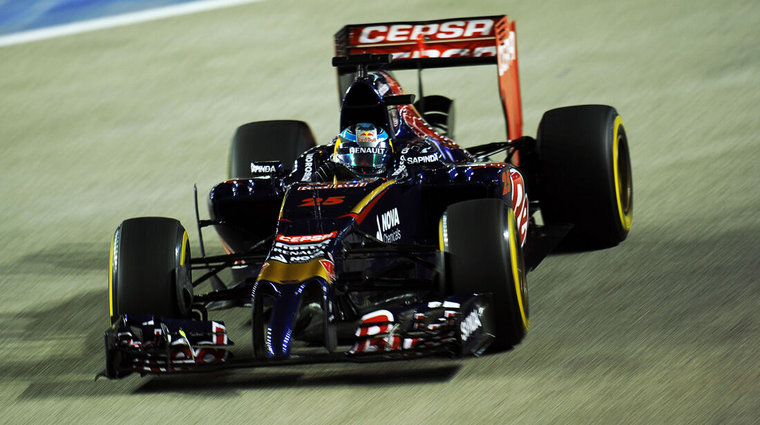 Jean-Eric Vergne - Toro Rosso - Formel 1 - GP Singapur - 19. September 2014