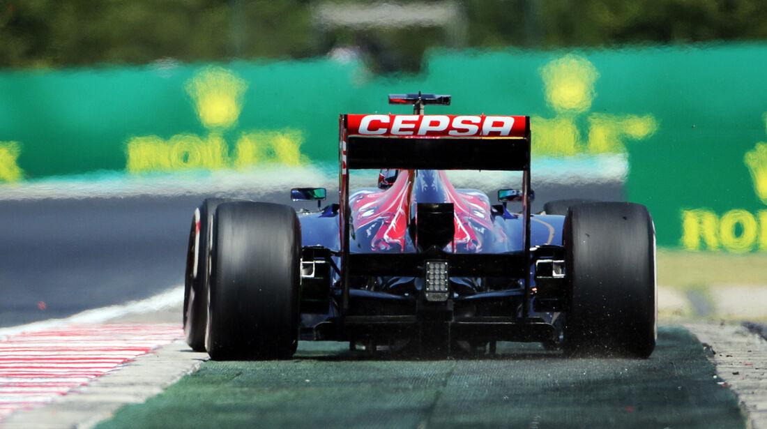 Jean-Eric Vergne - Toro Rosso - Formel 1 - GP Ungarn - 27. Juli 2013