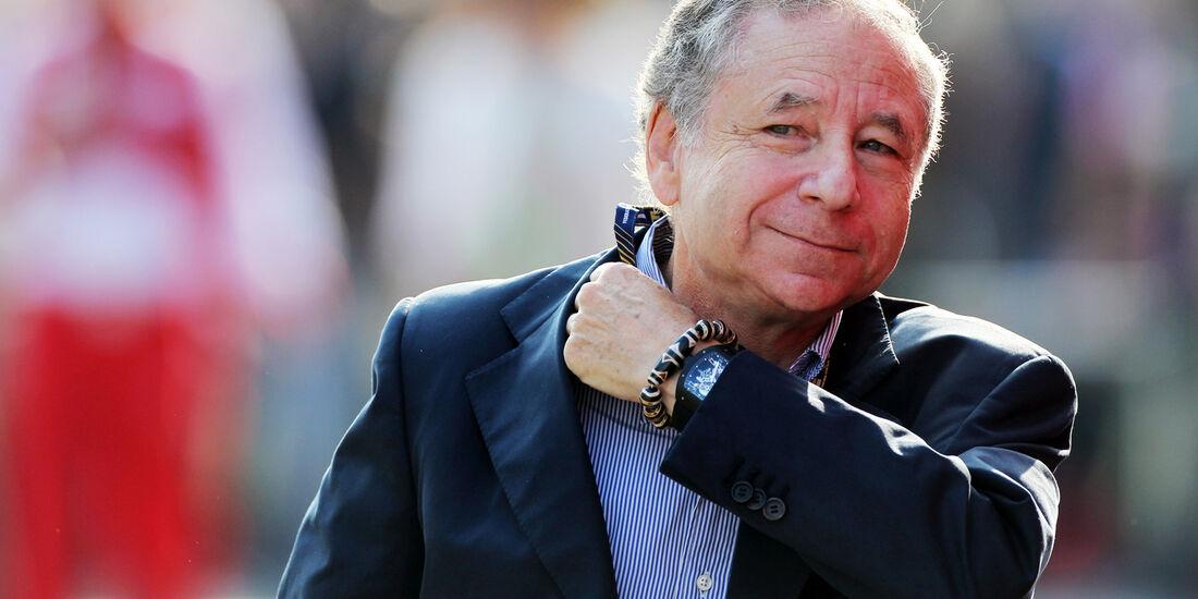 Jean Todt - Formel 1 - GP Italien - 7. September 2013