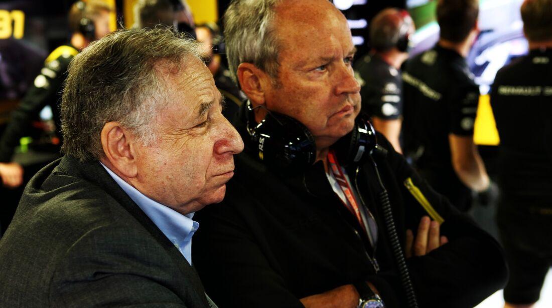 Jean Todt - Jerome Stoll - Formel 1 - GP Italien - 01. September 2018