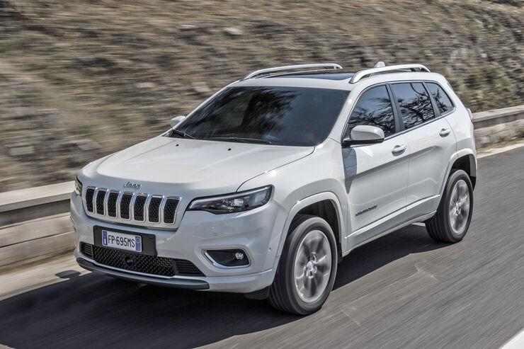 Jeep Cherokee 2018 Fahrbericht