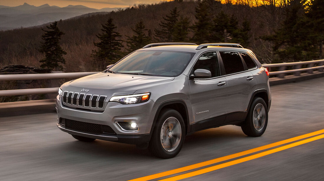 Jeep Cherokee Facelift 2018
