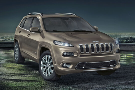 Jeep Cherokee Overland Autosalon Genf 2016