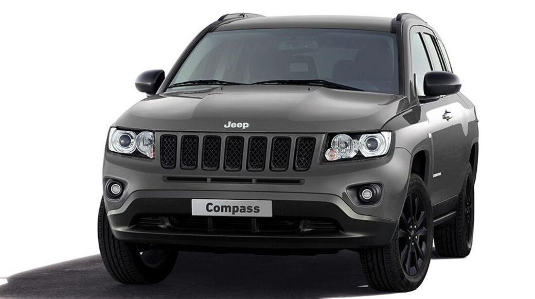 Jeep Compass Black Look Genf 2012