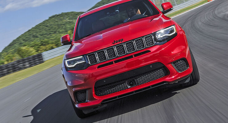 jeep grand cherokee trackhawk st rkster suv der welt. Black Bedroom Furniture Sets. Home Design Ideas
