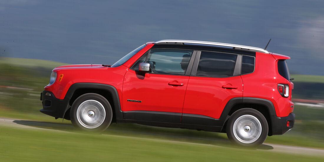 Jeep Renegade 1.6 Multijet Limited, Seitenansicht