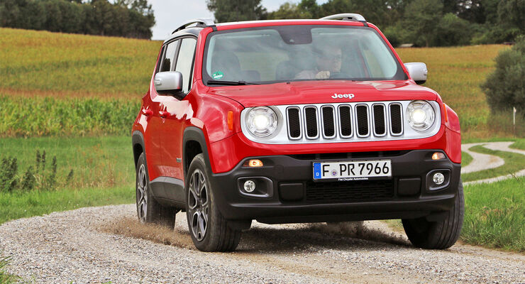 Jeep Renegade 140 PS Multijet 9G-Automatik Einzeltest