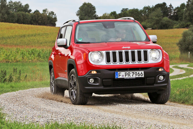 jeep renegade multijet automatik im test auto motor und sport. Black Bedroom Furniture Sets. Home Design Ideas