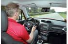 Jeep Renegade 2.0 Multijet, Cockpit, Fahrersicht