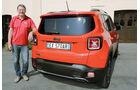 Jeep Renegade 2.0 Multijet, Heckansicht, Michael Harnischfeger