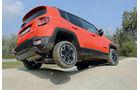 Jeep Renegade 2.0 Multijet, Seitenansicht, Gelände