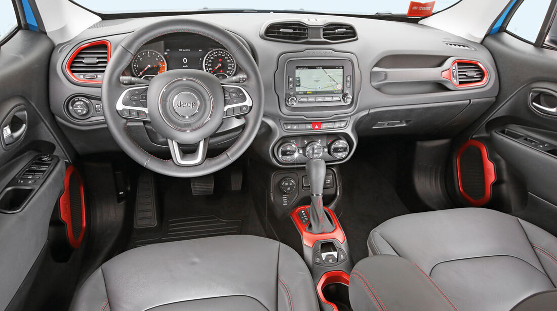 Jeep Renegade 2.0 Multijet Trailhawk, Cockpit