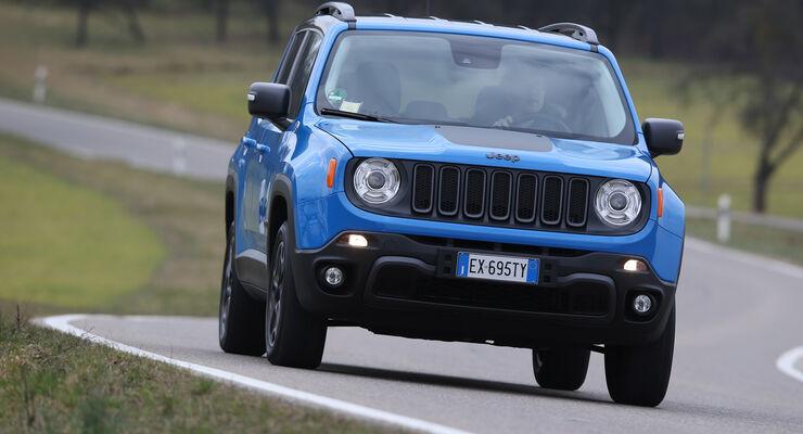 Jeep Renegade 2.0 Multijet Trailhawk, Frontansicht