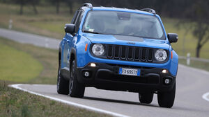 Jeep Renegade 2.0 Multijet Trailhawk, Frontansicht