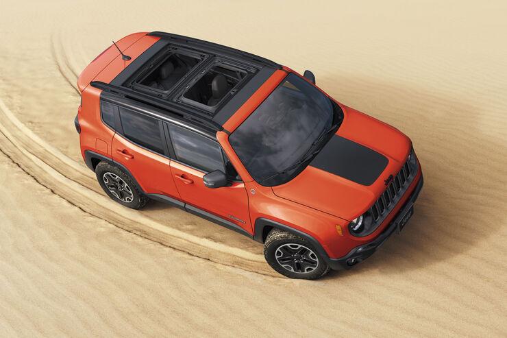 Jeep Renegade Modelljahr 2018