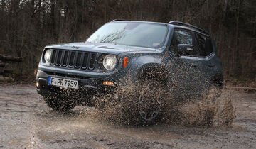 Jeep Renegade Trailhawk, Frontansicht