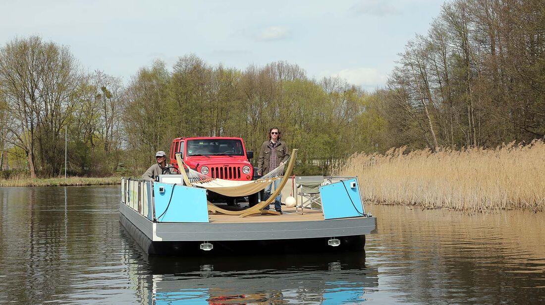 Jeep Wrangler Freecamper Camping-Hausboot