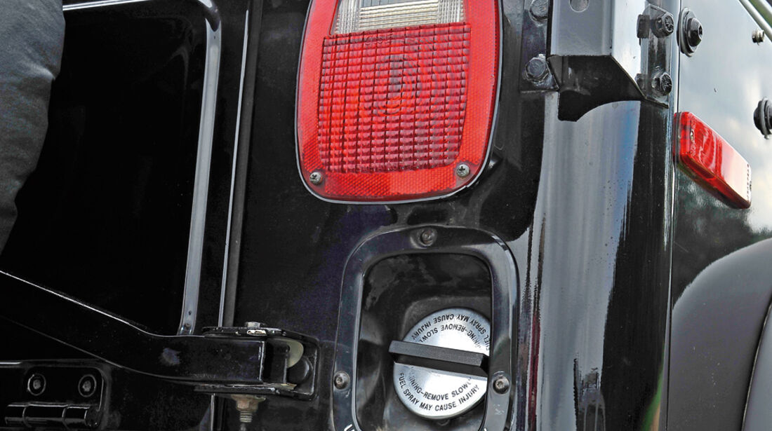 Jeep Wrangler, Heck, Heckleuchte