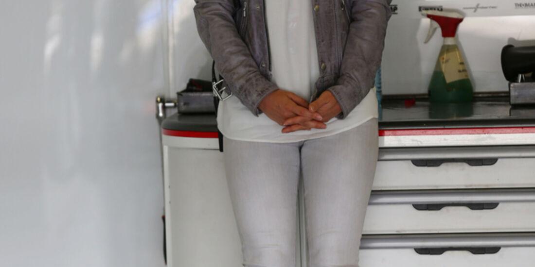 Jennifer Becks - Formel 1 - GP England - Silverstone - 4. Juli 2014