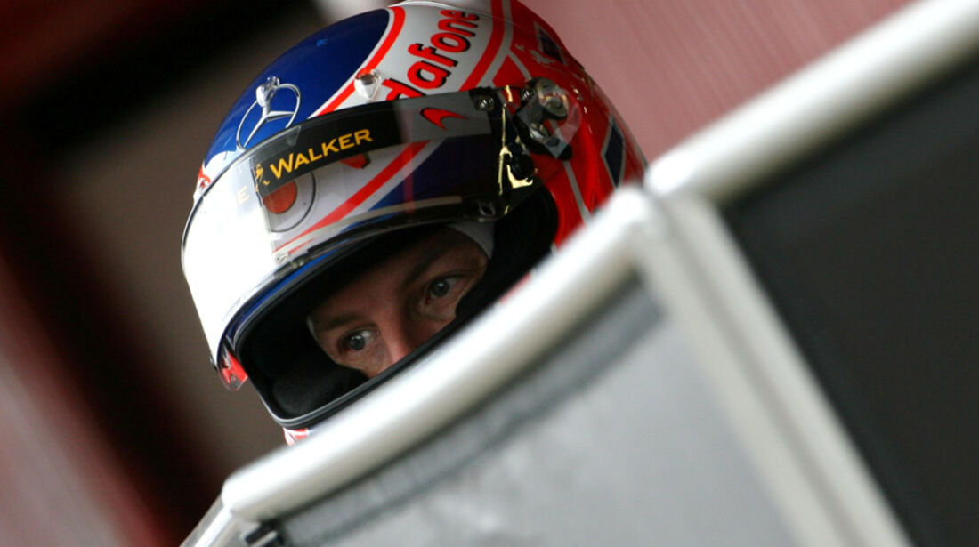 Jenson Button F1-Test 2011