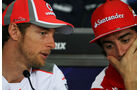 Jenson Button & Fernando Alonso - GP Malaysia - 22. März 2012