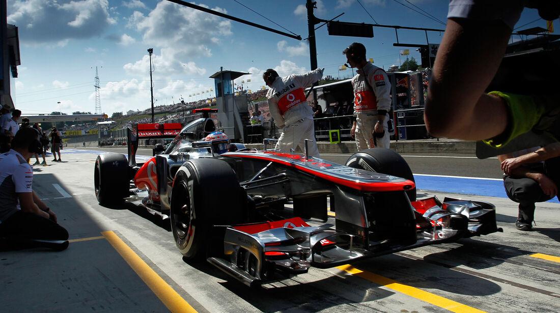 Jenson Button Formel 1 2012