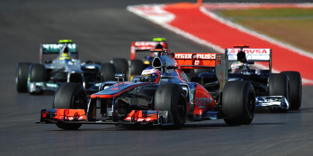 Jenson Button Formel 1 Austin GP USA 2012