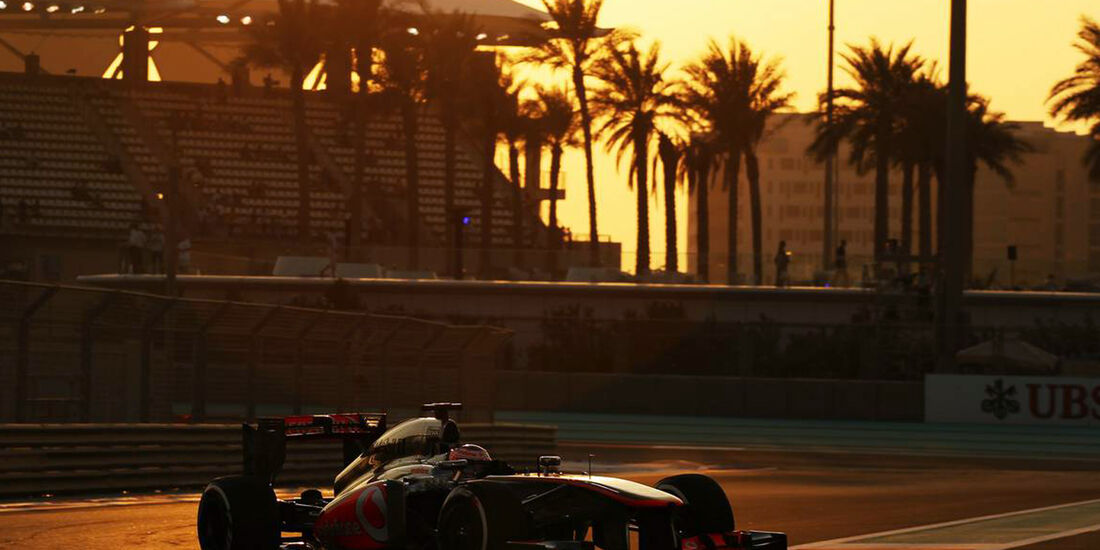 Jenson Button  - Formel 1 - GP Abu Dhabi - 01. November 2013