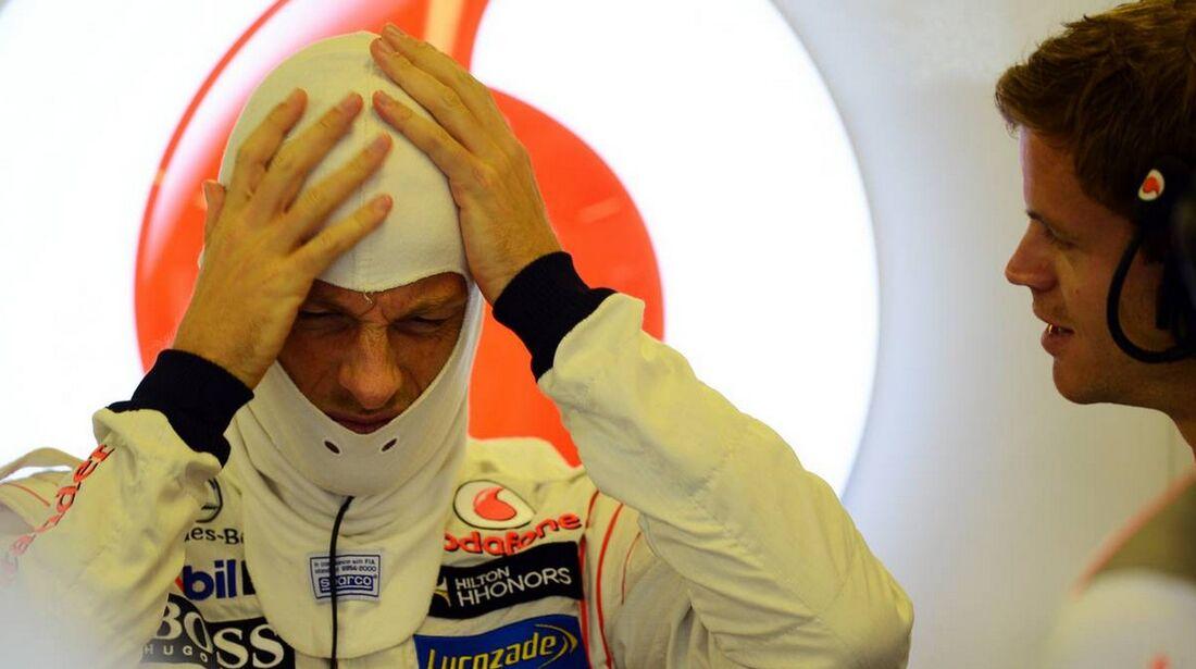 Jenson Button - Formel 1 - GP Abu Dhabi - 02. November 2012